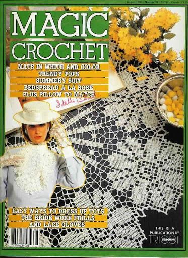 Knitting Magazines List : Best images about magic crochet on pinterest free