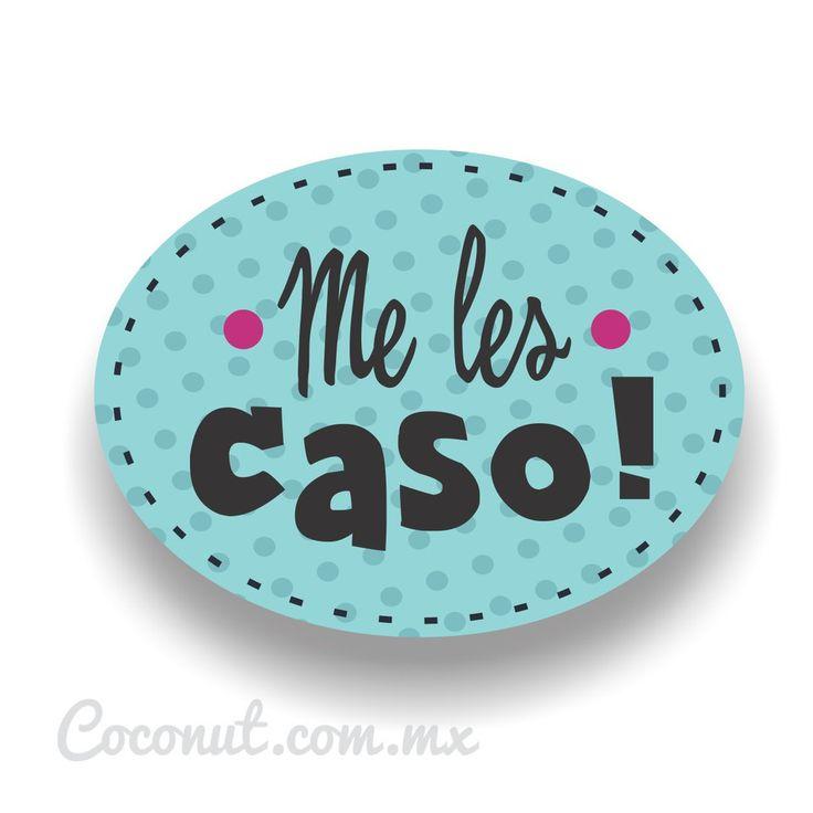 """Letrero para fiestas """"Me les caso!"""" disponible en www.coconut.com.mx Síguenos en Facebook https://www.facebook.com/coconutstoremx/"""