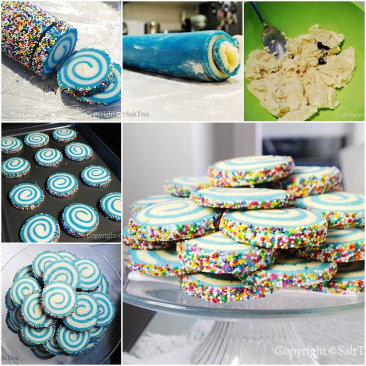 How to DIY Swirled Sugar Cookies
