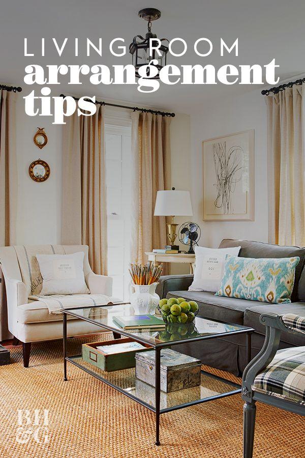 No Fail Tricks For Arranging Furniture Living Room Decor Cozy Furniture Arrangement White Sofa Decor