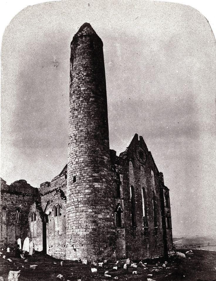 Замок Скала Кашел, Круглая башня. Ирландия, 1864