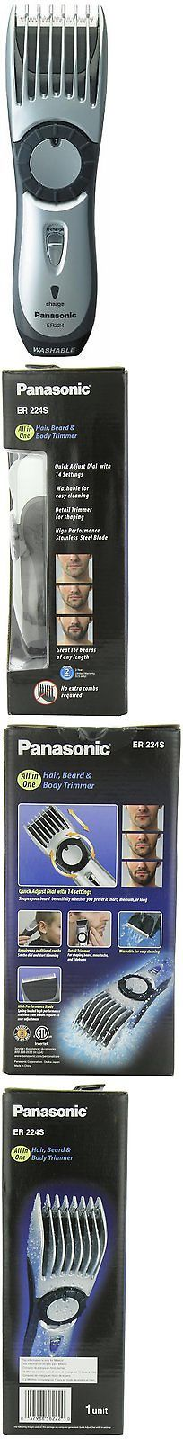 Clippers and Trimmers: All-In-One Hair Clipper And Beard Trimmer, Panasonic Er224s, New, Free Shipping BUY IT NOW ONLY: $34.77