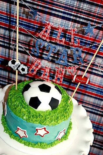 Eat Sleep Play Ball Theme Sports Baby Shower