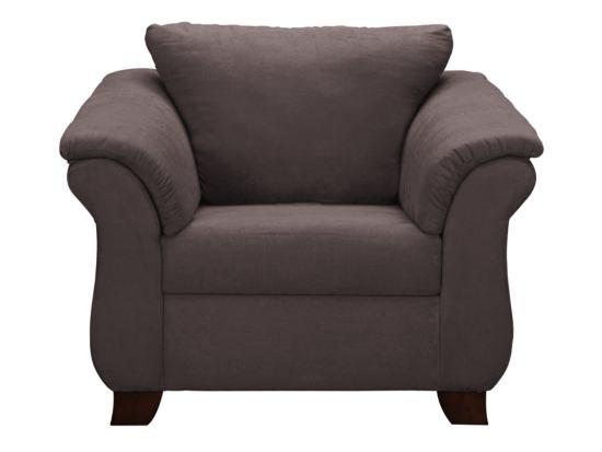 Adrian Graphite Chair   Value City Furniture