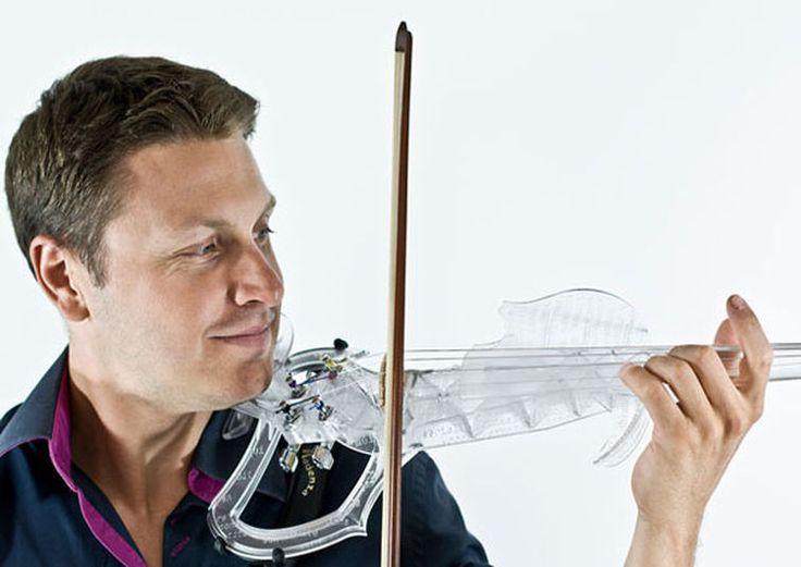 Voici le premier violon électrique imprimé en 3D