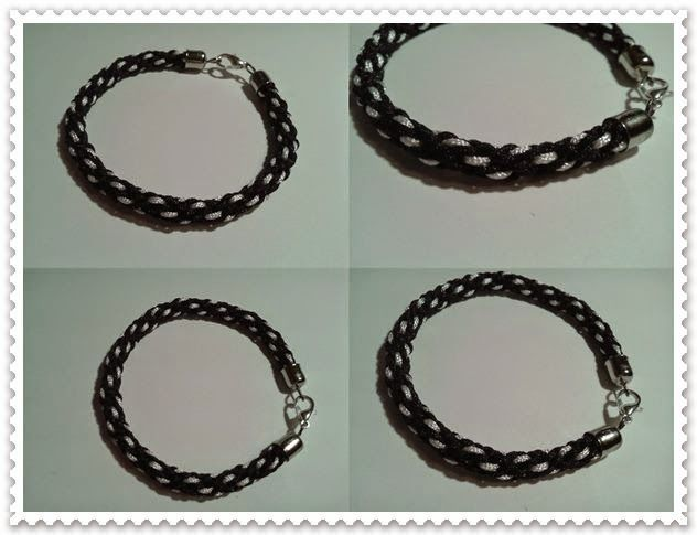 Kézművelő műhely: Pepita karkötő Kumihimo karkötő Kumihimo bracelet