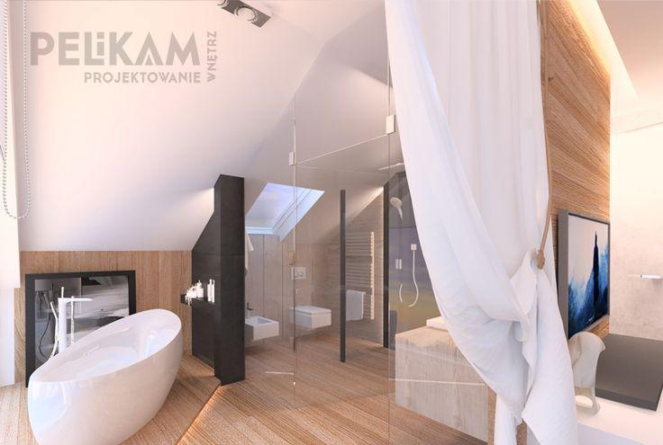 salon kąpielowy przy sypialni