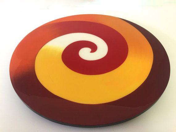 The Lazy Susan is 100% hand painted . Every Lazy Susan is painted on wood with acrylic colors.This Lazy Sussan comes painted in bright colors . After the Lazy Susan is hand painted, it is coated with a clear resin layer to seal and protect the painting. Each piece is original and created in our studio . Colors may vary slightly due to computer differences. Wipe clean with a damp cloth. Do not put in dishwasher or do not immerse in water. Lazy Susan arrives wrapped in bubble wrap for secure…