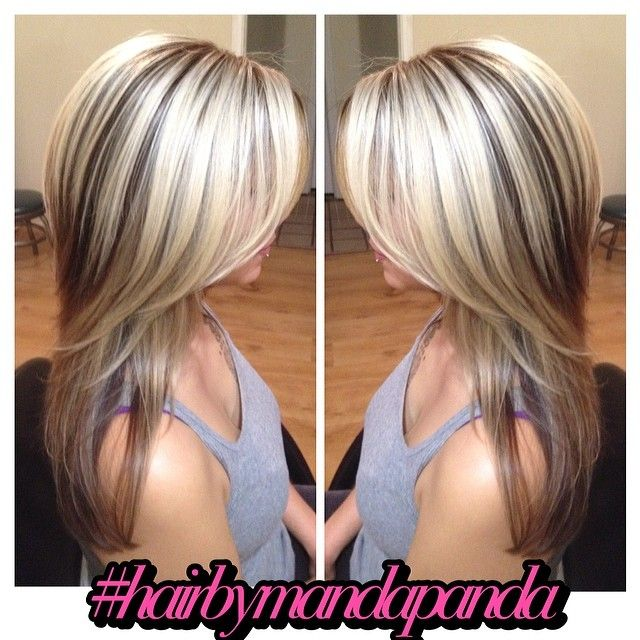 Gorgeous long hair #blonde #highlights love this color!!! And style!! This what I want !!!