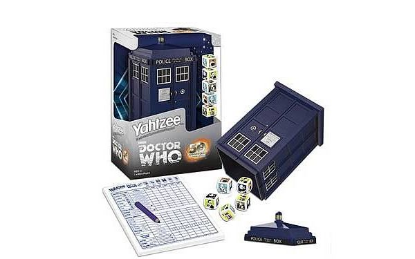 So. Cool. Yahtzee - 50th anniversary Doctor Who edition
