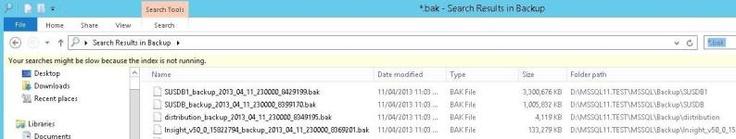 SQL Server Backup Paths and File Management