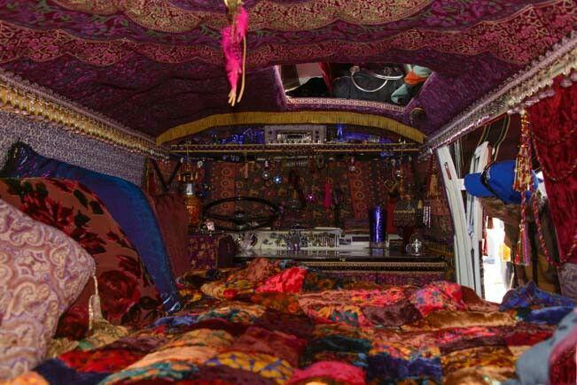 Boho Chic Closet Room
