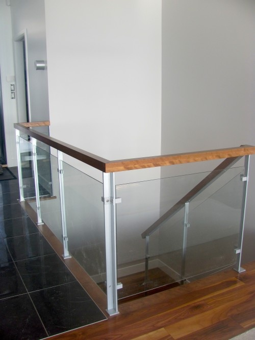 Enfer design | Garde-corps & escaliers - bois et verre