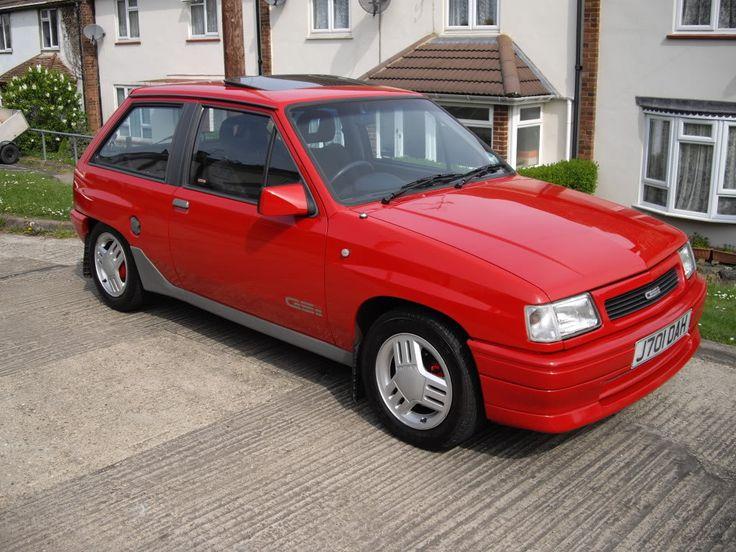 1991 Vauxhall Nova 1.6 GSi