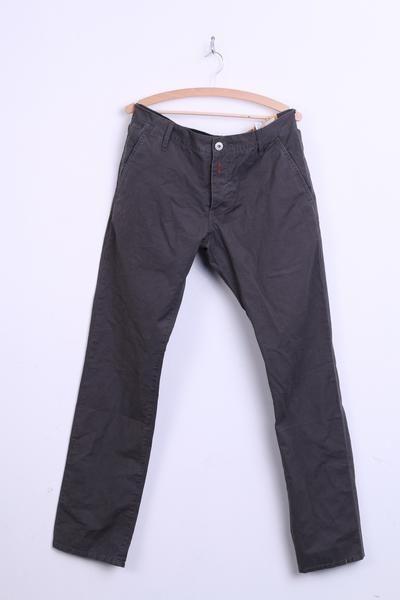 REPLAY Mens W33 L34 Trousers Grey Cargo Pants Cotton - RetrospectClothes