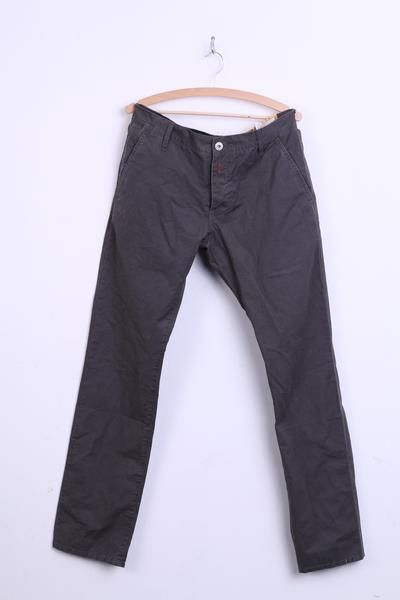 REPLAY Mens W33 L34 Trousers Grey Cargo Pants Cotton - RetrospectClothes