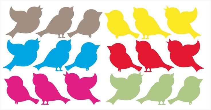 Mooie vogeltjes