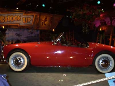 """Elvis' Red MG from the film """"Blue Hawaii"""""""