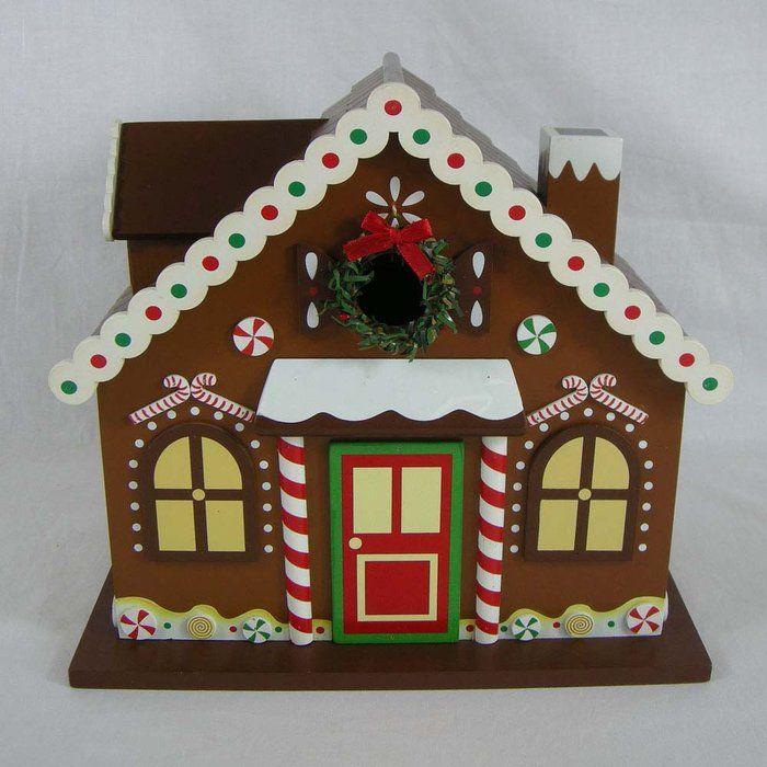 Birdhouses To Buy | Gingerbread House Birdhouse At Brookstoneu2014Buy Now!