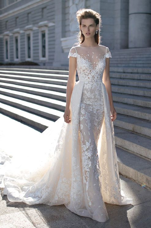 253 best illusion wedding dresses images on pinterest wedding the new berta spring 2016 bridal collection is a regal masterpiece that is unlike anything you illusion wedding junglespirit Choice Image