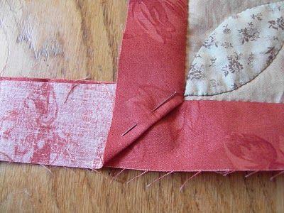Quilt it and Dotty www.quilt-it.nl: Fairhaven maand 2 en verstekhoeken easy-peasy