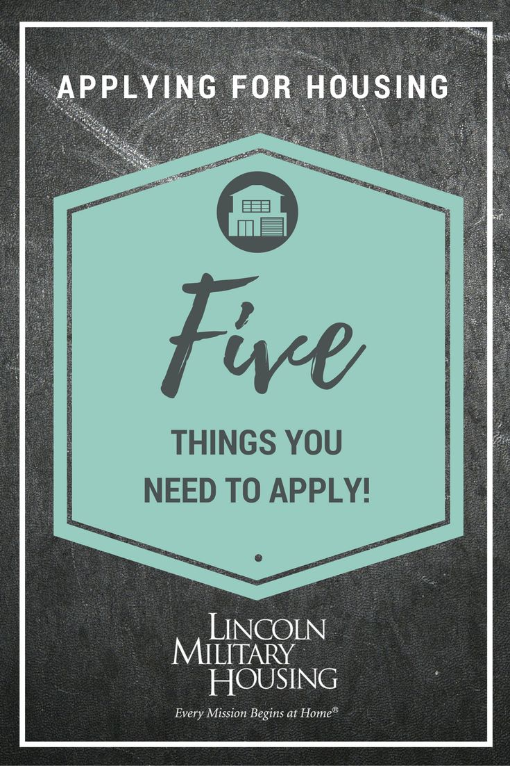 Finding the right home when PCSing can be a challenge. Learn more about what Lincoln Military Housing has to offer and how we can make this process easier. Here are the five things you need to apply for a rental home at your next installation.