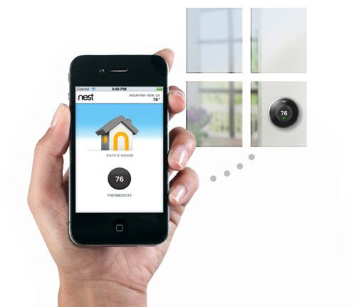 Nest Smart Thermostat - Design Milk | Design Milk