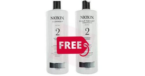 FREE Sample Nioxin Shampoo & Conditioner