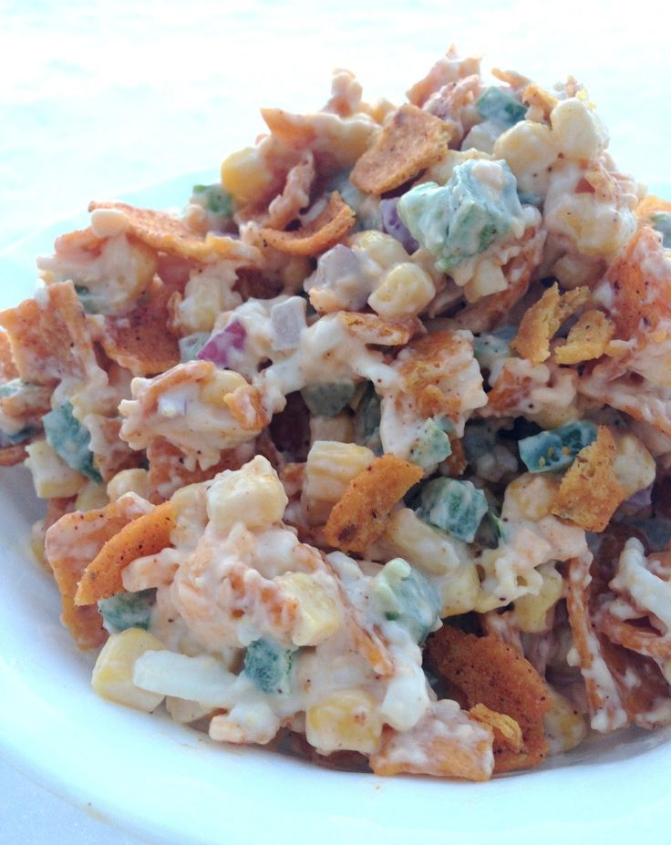 Paula Deen's Frito Corn Salad is a quick and easy salad that can be thrown together in no time. I ran across it on Pinterest. Sometimes, I f...