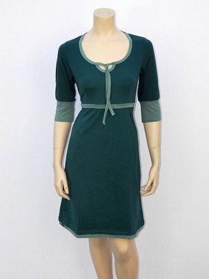 Contrast jurk - dress by Moyzo #duurzaam