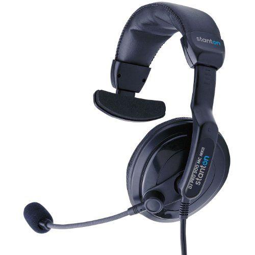 Stanton DJ Pro 500MC MKII DJ Headphones with Mic