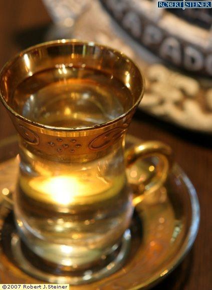 Turkish apple tea.. Loves it!