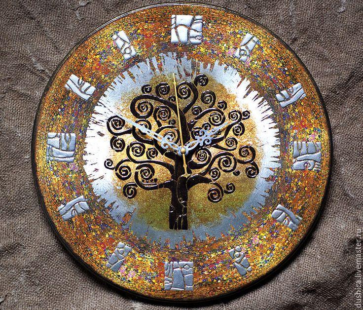 """Купить Настенные часы """"Философия времени"""" - часы настенные, часы интерьерные, часы круглые"""