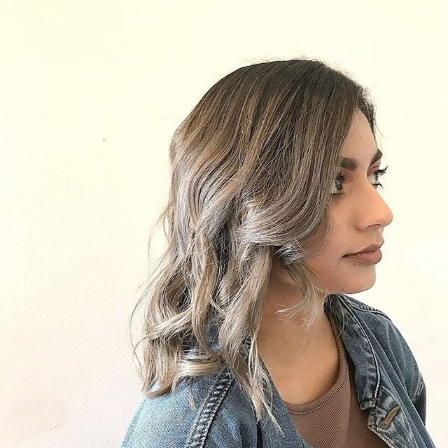 A root shadow like this one can help extend your colour between salon visits. It also adds great movement and texture to your colour, perfect for bold changes like this gorgeous grey. Hair by Museo.    #hairbymuseo #museoperth #grayhair #greybalayage #rootshadow