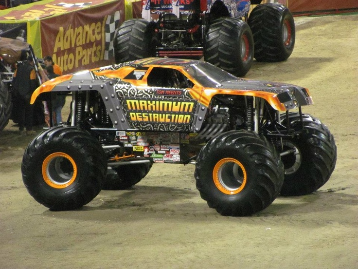 Monster Jam - World Finals 2013 - Max-D Driver Tom Meents ... |Tom Meents Monster Truck Driver