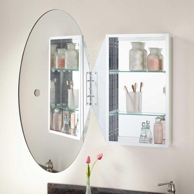 Linacre Beveled Medicine Cabinet Round Mirror Bathroom Bathroom Medicine Cabinet Mirror Bathroom Mirror Cabinet