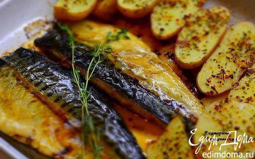 Скумбрия запеченная с паприкой и чесноком от Гордона Рамзи | Кулинарные рецепты от «Едим дома!»