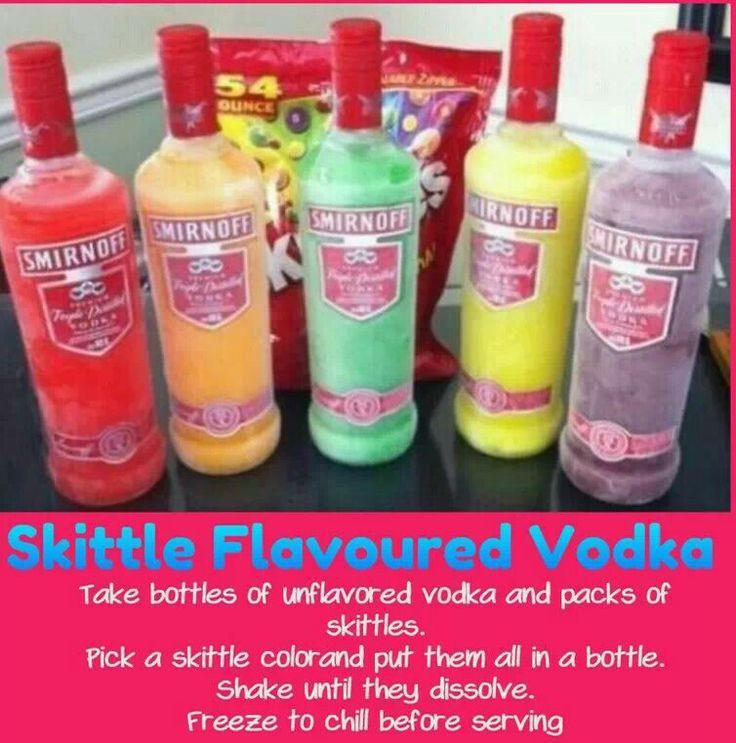 how to make skittles vodka fast