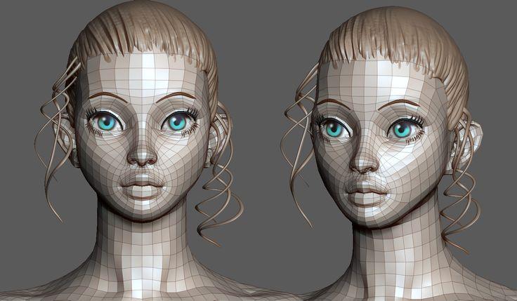 ArtStation - 3D sculpt WIP, Pierre Benjamin