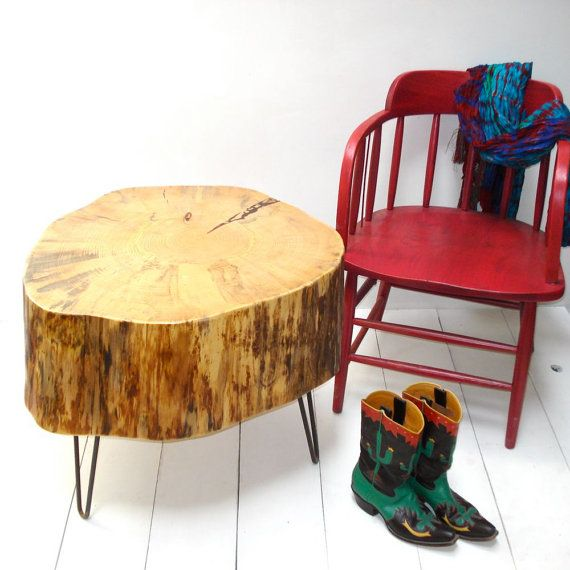 Silver Tree Stump Coffee Table: Best 25+ Stump Table Ideas On Pinterest