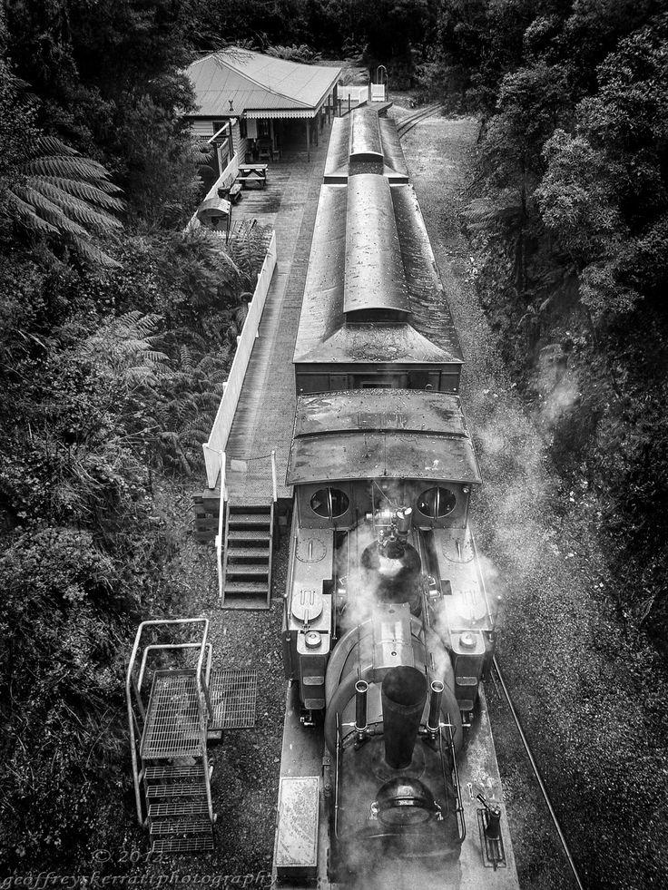 Abt Railway,Tasmania. by www.geoffreyskerrattphotography.com (via Creattica)