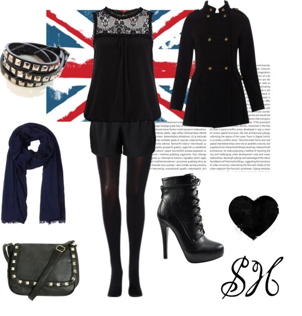 """SH"" by mandytarragon on Polyvore"