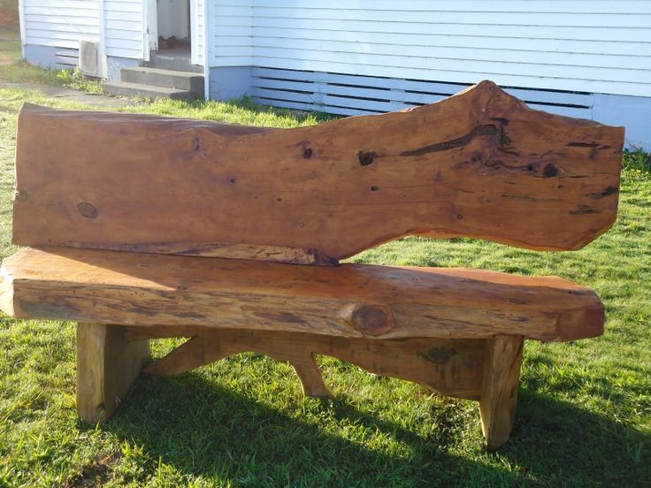 The Shannon bench with stain from Macs Macrocarpa.  Grab your style of custom made outdoor furniture: Buy now: http://www.macsmacrocarpa.co.nz/page12.html