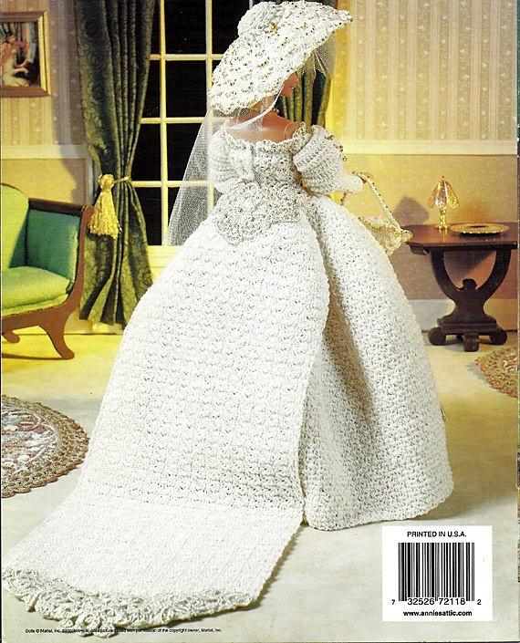 Crochet Barbie Doll Wedding Dress Pattern   Wedding
