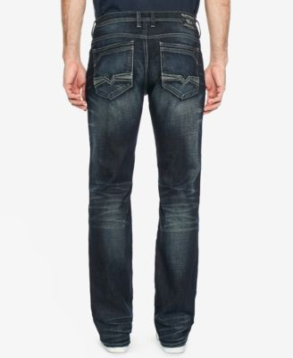 Buffalo David Bitton Men's Indigo Wash Jeans - Blue 34x34