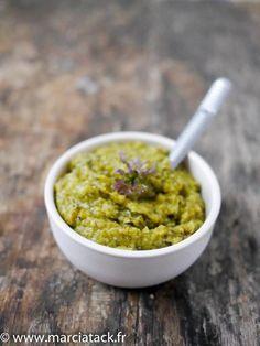 Tapenade de courgette à la coriandre - Recette - Marciatack.fr : recettes faciles | Tout pour cuisiner !