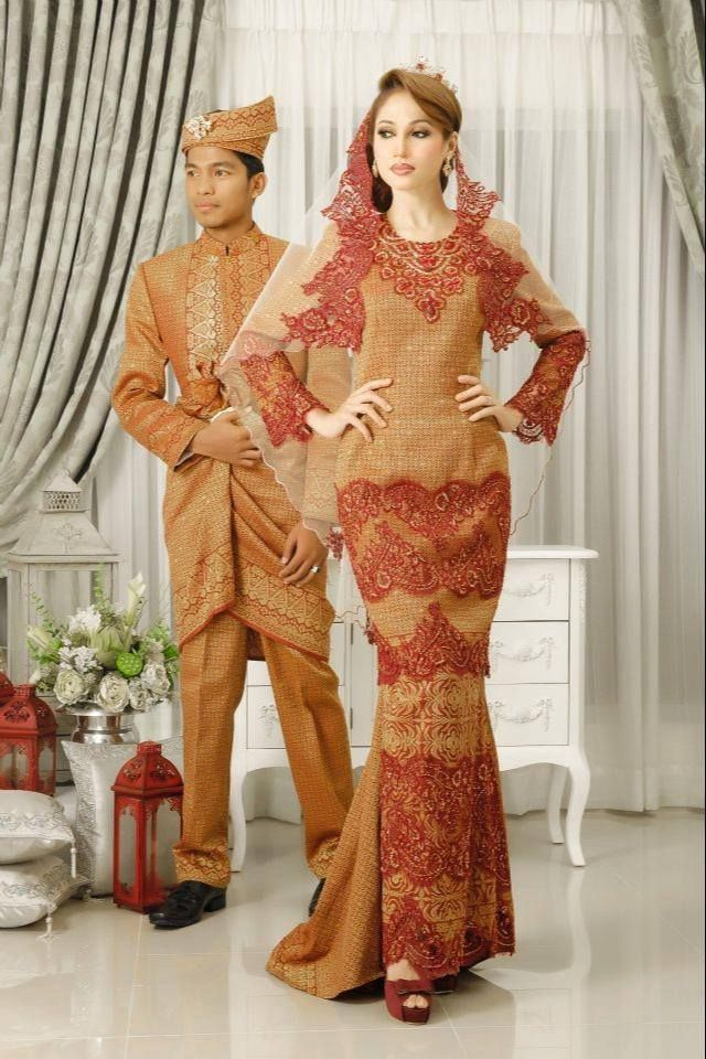 100 best images about Baju pengantin on Pinterest ...