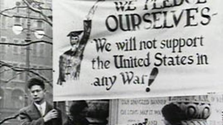 In this video segment adapted from American Experience, view newsreel footage, archival photos, and interviews to explore Franklin Roosevelt's efforts to help defend Great Britain from German attacks in the period before the United States entered World War II. Despite the domestic restraints of the Neutrality Acts enacted by Congress in the 1930s and strong public isolationist sentiment, Roosevelt proposed the Lend-Lease plan to provide Great Britain with necessary weapons, and used his p...