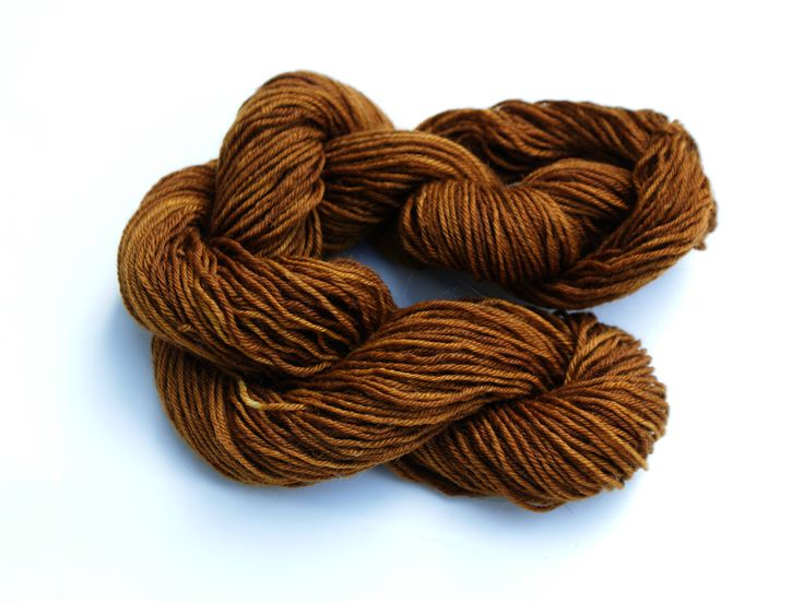 BRONZED - Hand Dyed, 4 Ply Sock Wool by TinctoriaYarn on Etsy