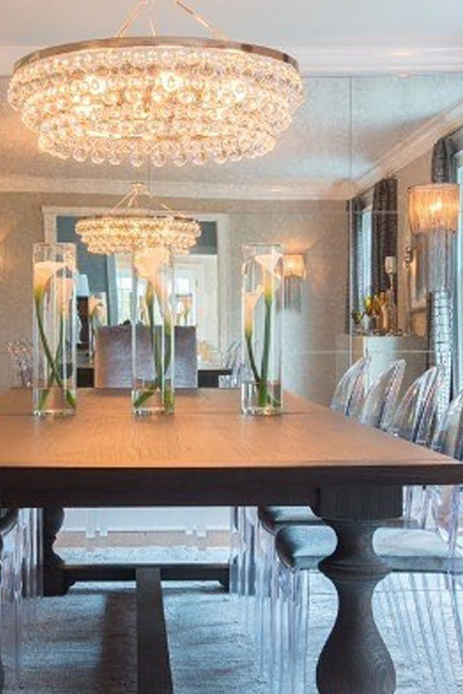 Here for you 24 elegant dining room sets that can add glam into your home. ★ See more: http://glaminati.com/elegant-dining-room-sets-inspiration/?utm_source=Pinterest&utm_medium=Social&utm_campaign=elegant-dining-room-sets-inspiration&utm_content=photo3